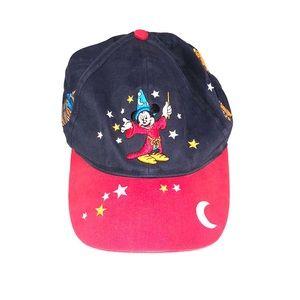 DISNEY Walt Disney World Mickey Mouse Fantasia Cap